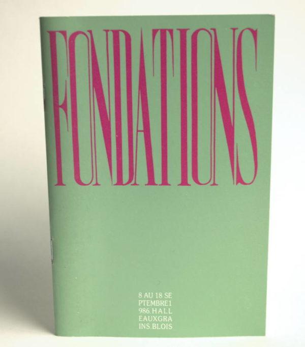 Couverture Fondations
